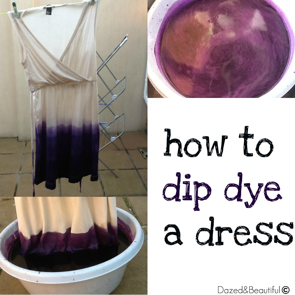 Can you dye dress different color