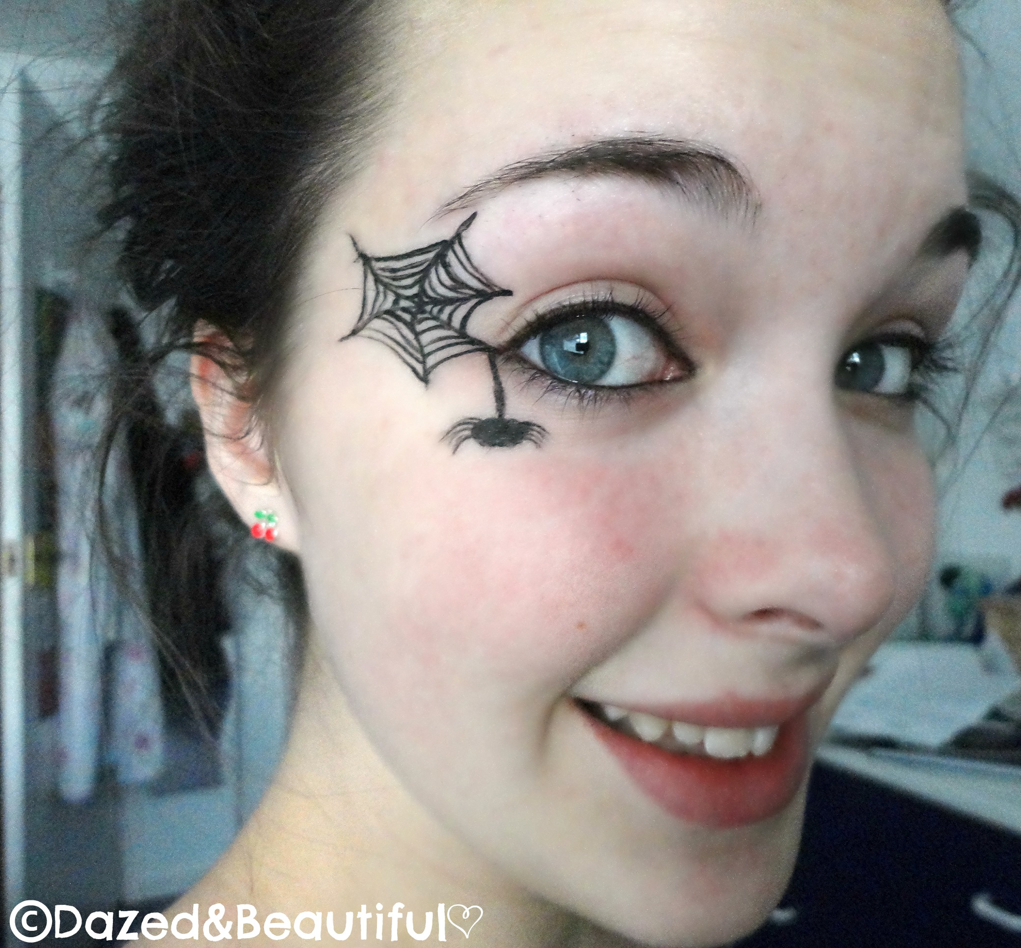 Spider Eye Makeup – Dazed&Beautiful