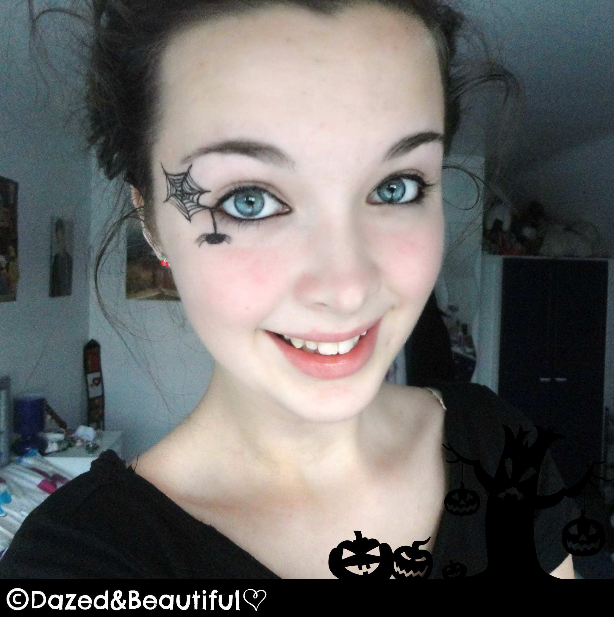 Spider Eye Makeup – Dazed&Beautiful