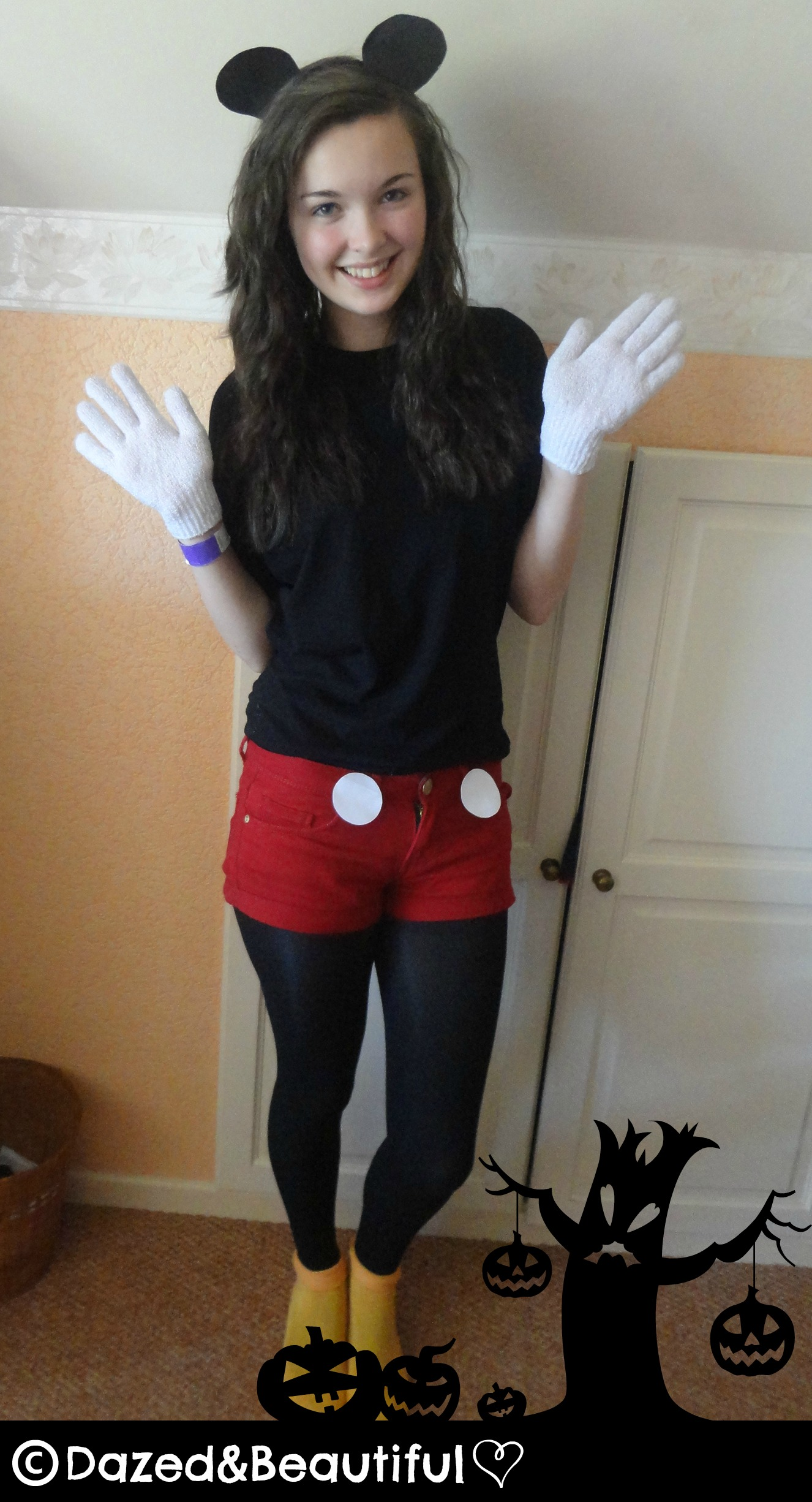 Minnie Mouse Outfit Tumblr DIY Mickey Mouse Costu...