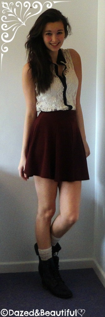 Outfit 2 - semi-formal christmas outfit copyight