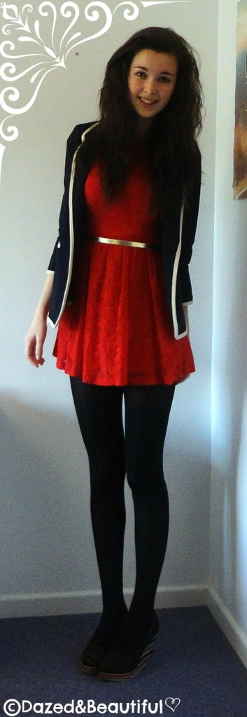 Outfit 3 - Formal christmas outfit copyright