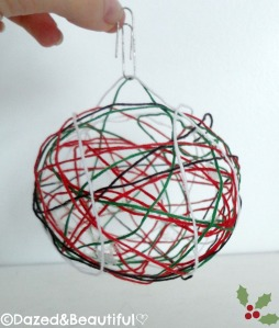 The End christmas bauble copyright