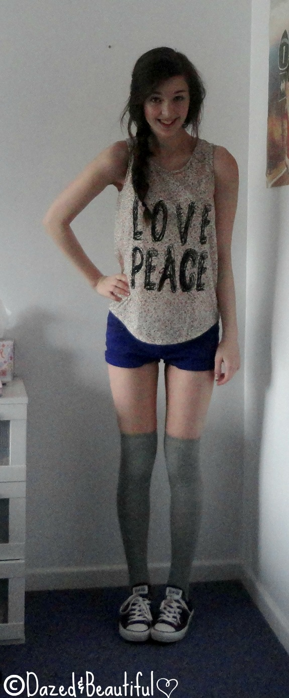 the gallery for gt knee high socks outfits with converse