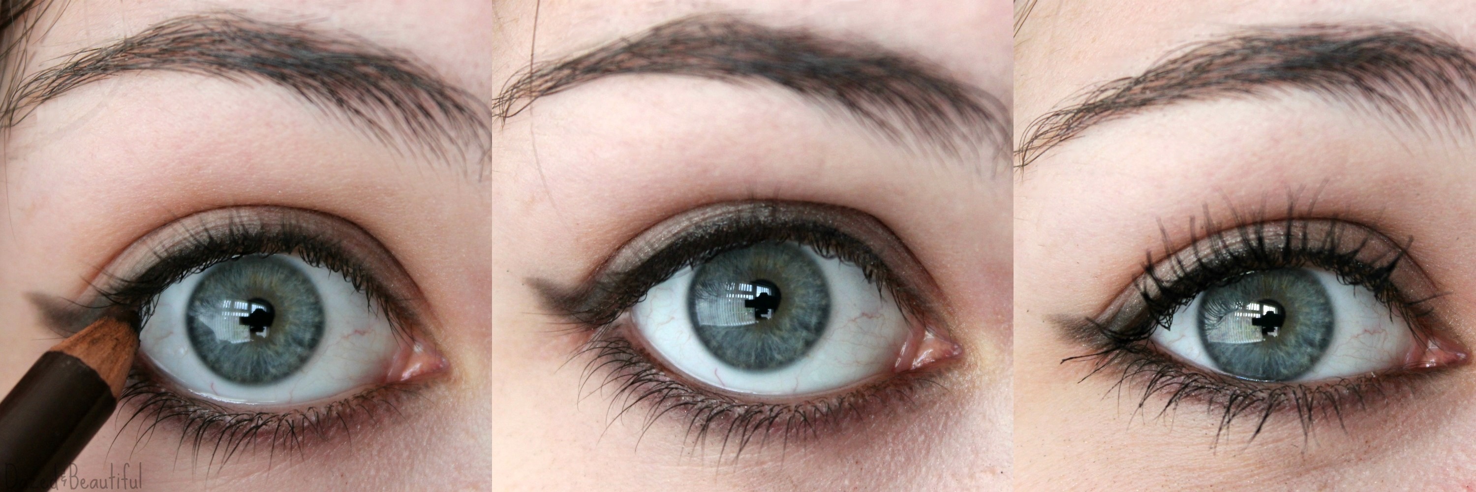 NEW CAT EYE TUTORIAL WITH A PENCIL EYELINER