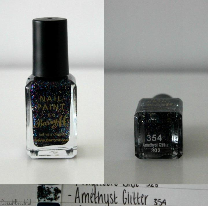 17 amethyst glittter