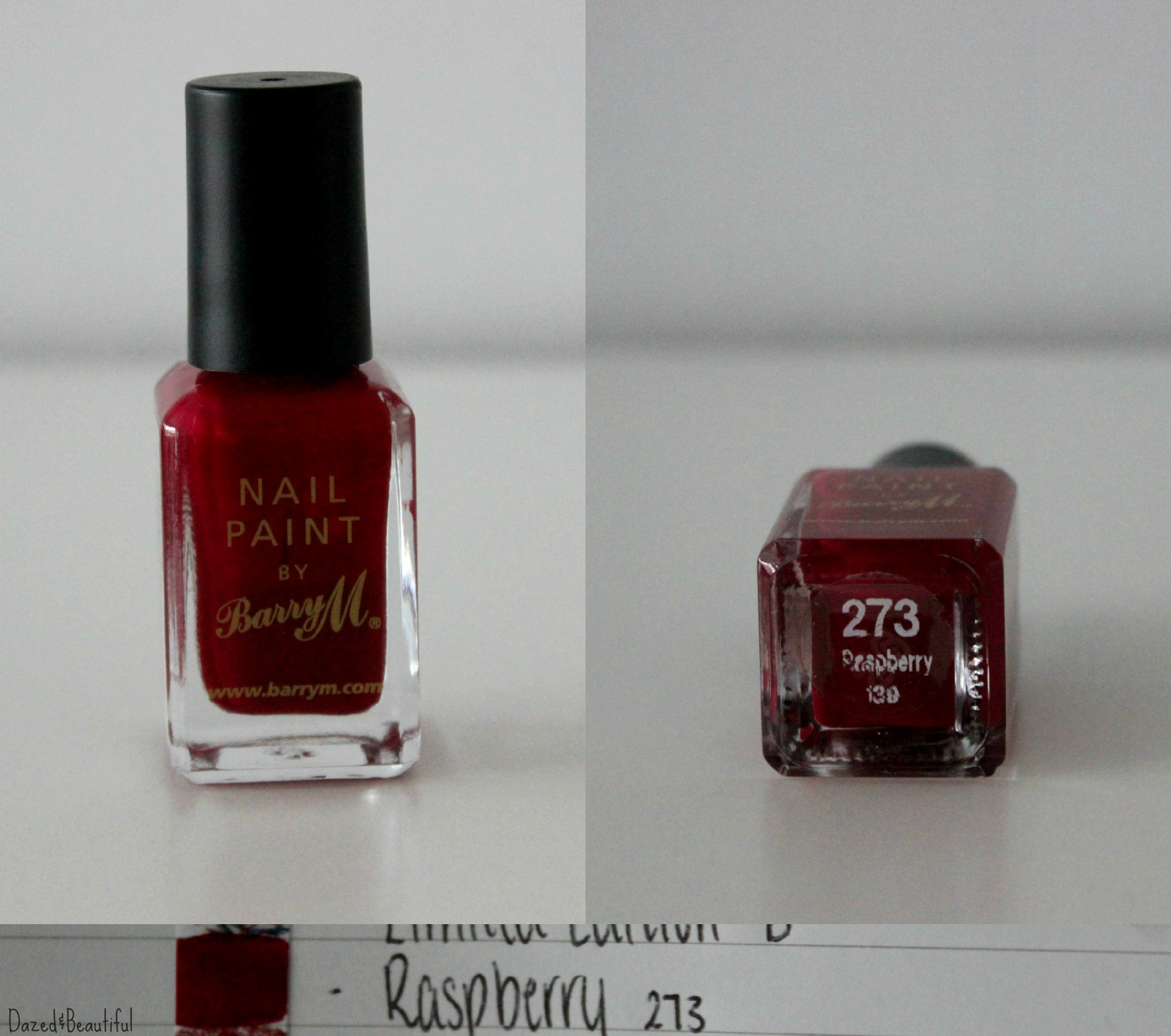 My Barry M Nail Polish Collection and Review – Dazed&Beautiful