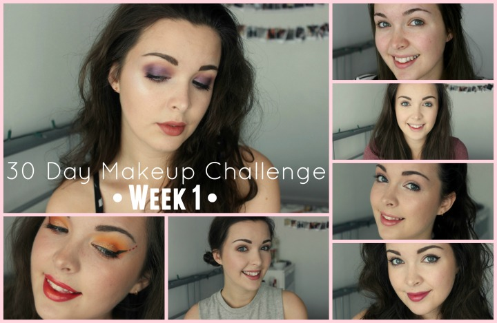 30 Day Makeup Challenge Week 1