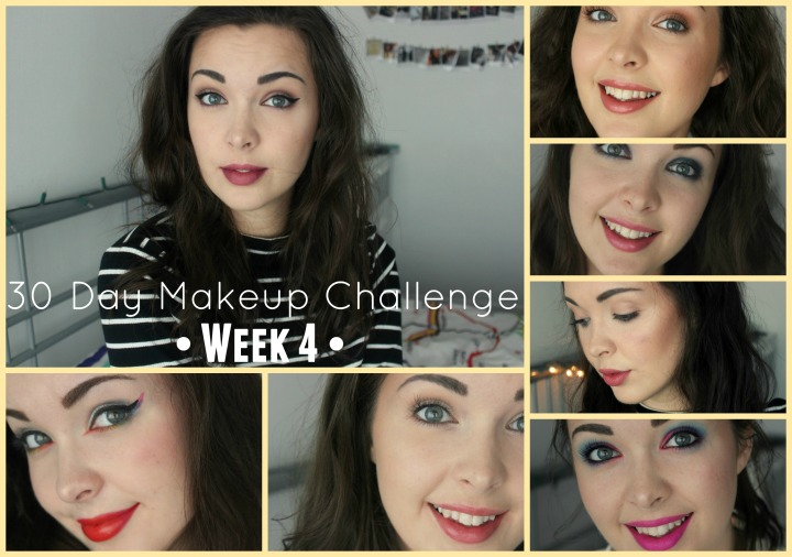 30 Day Makeup Challenge Week 4